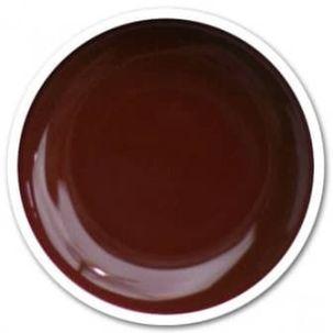 Gel UV chocolat french manucure