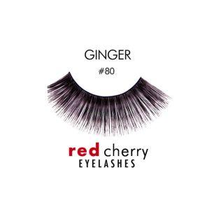 Faux cils naturels RED CHERRY n°80 extrêmement longs et volumineux