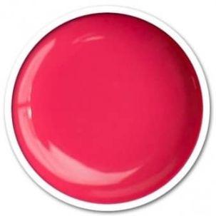UV gel french rose flashy