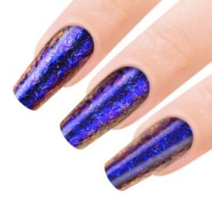 poudre aurora violettes