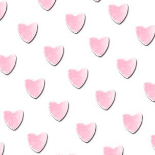 Sachet de coeurs roses 2 mm - Nail art