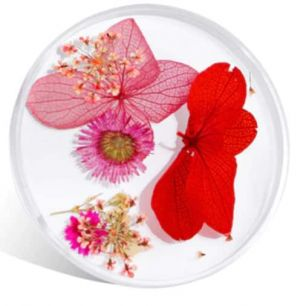 Nail art fleurs naturelles