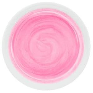 pastel metallic pink