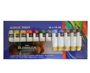 Lot peinture acrylique décoration