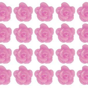 Sachet de Fleurs céramiques 3D - Nail Art - mauves