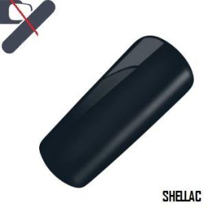 shellac noir Grey satin