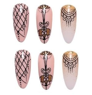 stampin g nail art
