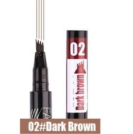 stylo sourcils brun foncé
