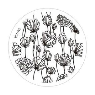 stamping fleurs YZW-Z18