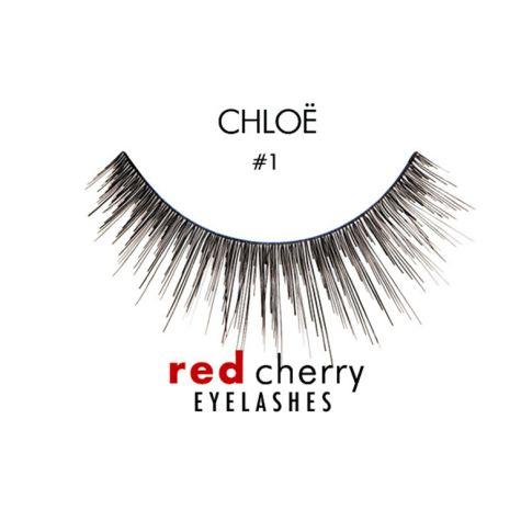 Faux cils naturels RED CHERRY n°1 extrêmement longs et volumineux