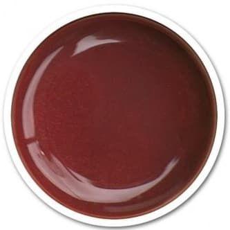 gel rouge brun