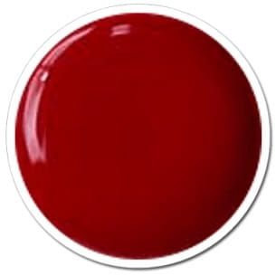 Gel UV couleur rouge champions red 08