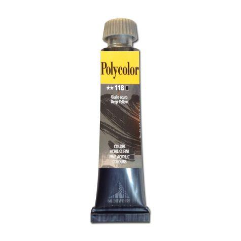 Peinture acrylique jaune