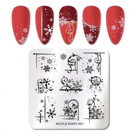 plaque stamping hivernal