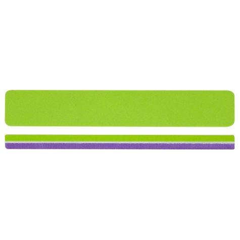 Premium lime buffer, vert et violet grains 120/180