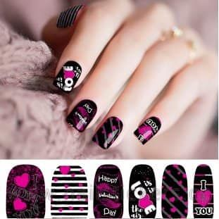 Love is in the air nail wrap