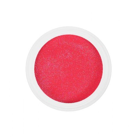 Résine couleur SCINTILLANTE NDED, paillettes et fils nail art-6149_fuschia_pailleté