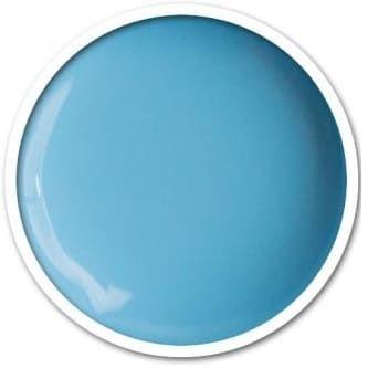 Gel UV bleu jean pour la french manucure