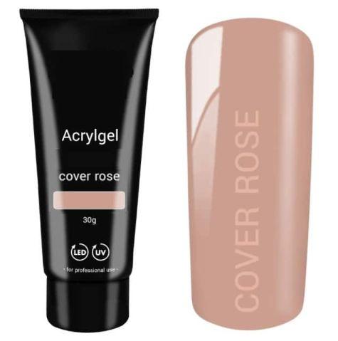 polygel cover  rose