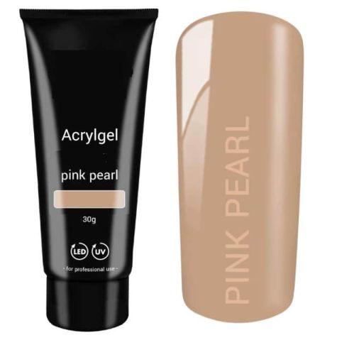 Polygel pink pearl