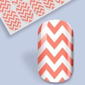 nail wap chevrons