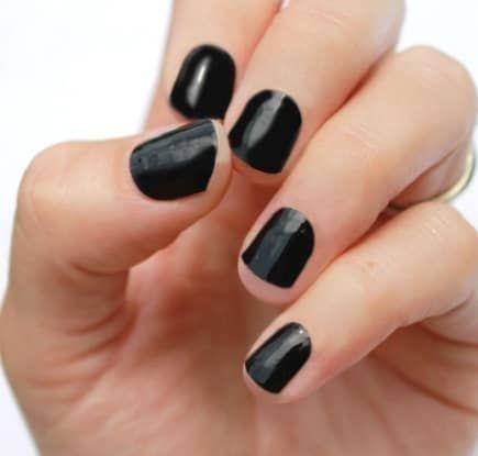 vernis noir adhésif nail warp