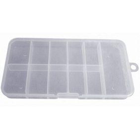 Boîte de rangement vide 100 tips-capsules qualité supérieure ABS