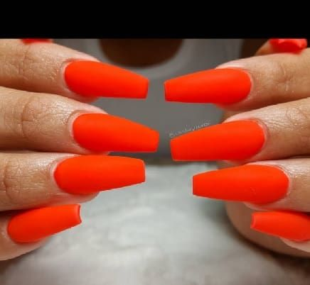 nail warp vernis autoccolant orange