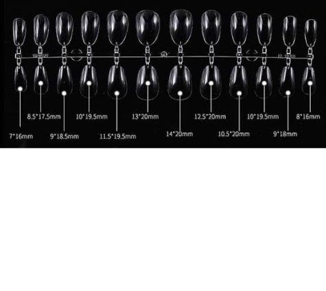 capsules complète pour rallonger les ongles