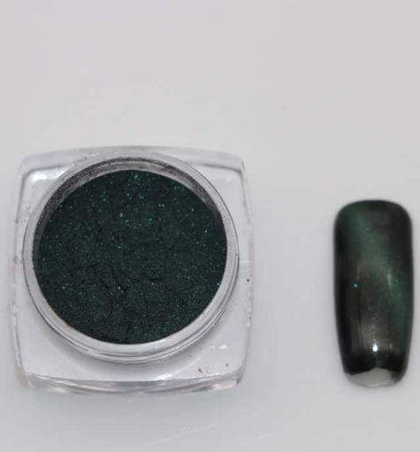 Pigment cat eyes vert foncé