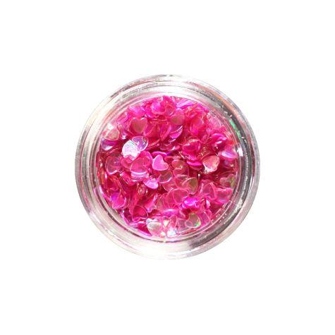 coeurs rose pour nail art