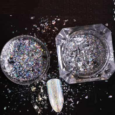 nail art laser aluminium