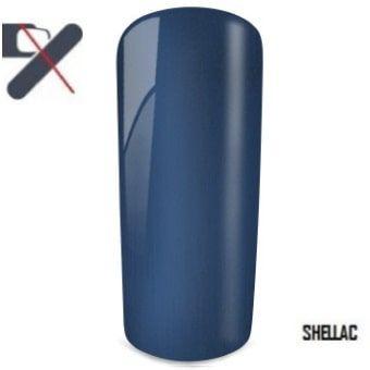 shellac bleu foncé