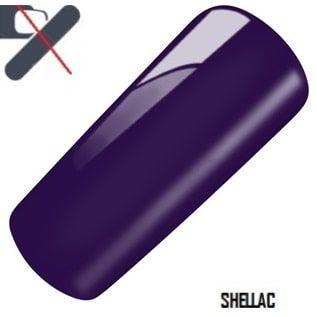 shellac deep purple violet