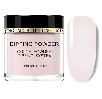 dipping clear pink