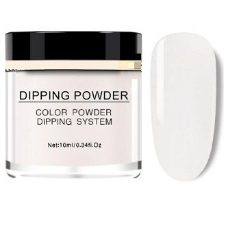 dipping poudre blanc