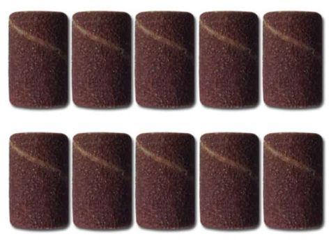 10 embouts EMERI pour ponceuses électriques d'ongles -Grains-180