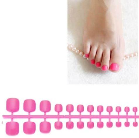 capules pour les pieds rose fluo