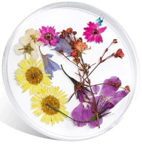 fleurs séchée pour make up et nail art