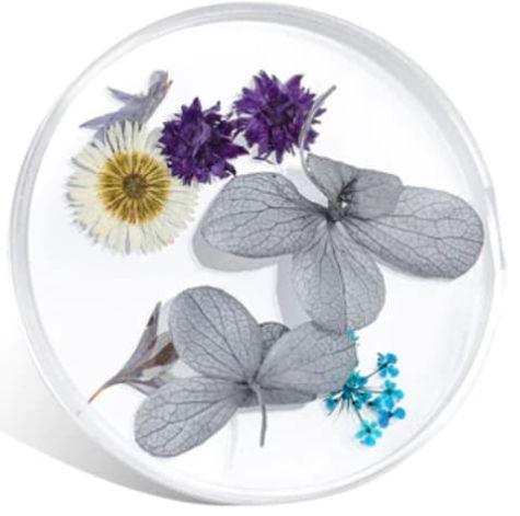 fleurs grises naturelle