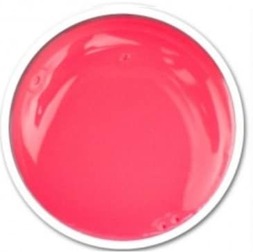 gel rose fluo