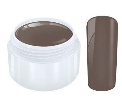 gel couleur cacao