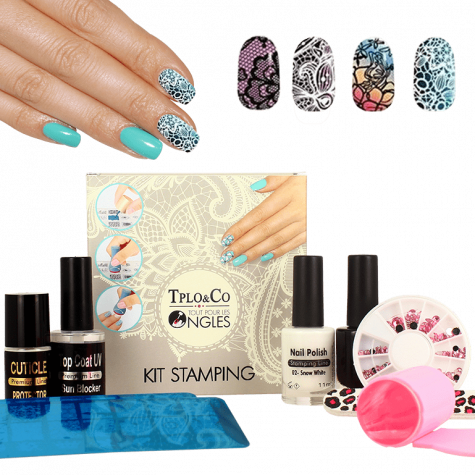 kit stamping nail art