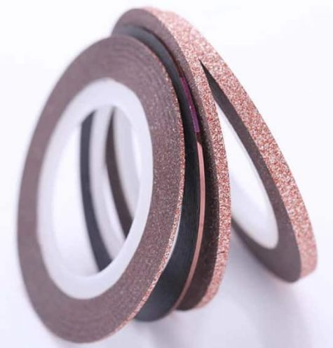 set strping tape rose gold