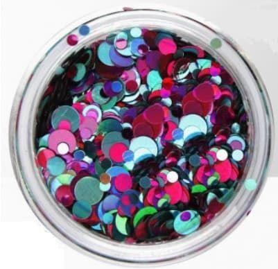Mix de bubble paillettes