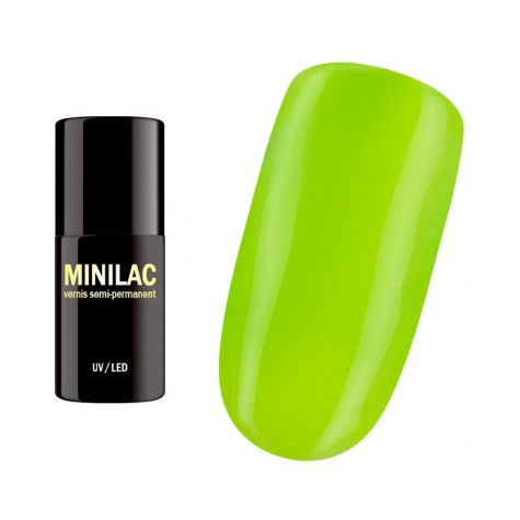 Neon lime Vernis semi-permanent vert fluo
