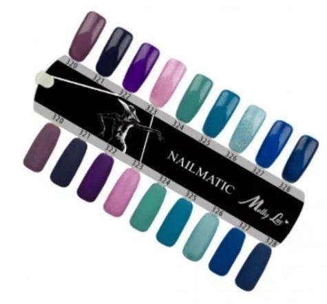 nuancier de couleur nailmatic mollylac