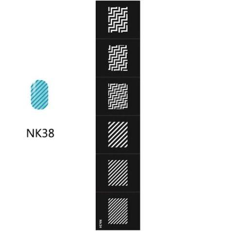 chervrons zig zag- NK38