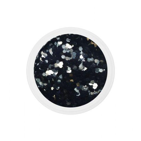 Chuncky glitter noires
