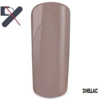 shellac nude brun